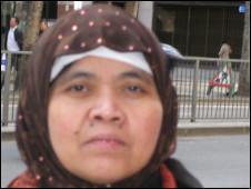 Yoyoh, pembantu rumah tangga asal Indonesia