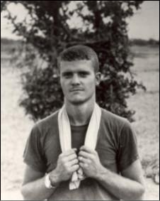 Ông Jim Webb khi là Thủy quân lục chiến trong quân đội Mỹ tại miền Nam Việt Nam