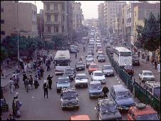 شارع في القاهرة