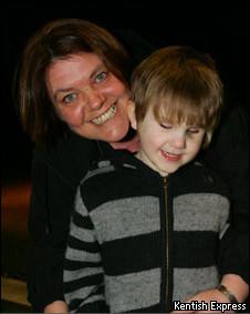 Jamie Aspland e sua mãe, Debs Aspland