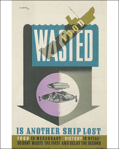 Выброшенная пища – это еще один потерянный корабль.