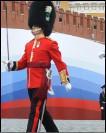 Британские военные на репетиции парада Победы