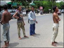 Genta en la provincia de Banda Aceh