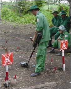 Detector de minas Minehound