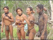 Indígenas ayoreo.