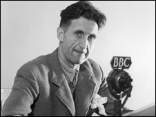 George Orwell en la BBC