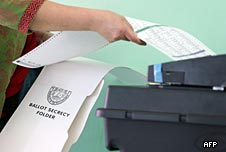 Philippines' vote machine