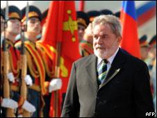 Lula chega à Rússia