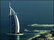 Dubai nos Emirados Árabes