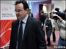 Ministro de Finanzas de Grecia, George Papaconstantinou