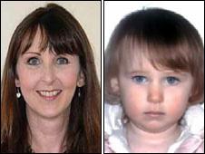 Lianne Smith e sua filha Rebecca