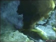 Derrame de crudo en el Golfo de México