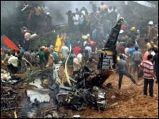 Kecelakaan pesawat India
