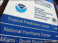 Letreo de NOAA
