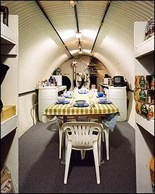 Interior de un bunker (Foto: Juanjo Robledo)
