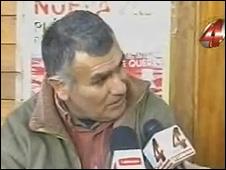 José Omar Suárez, durante entrevista  (imagem YouTube)