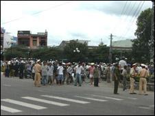 Hiện trường vụ lộn xộn 9/2009