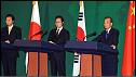 رهبران چین، کره جنوبی و ژاپن
