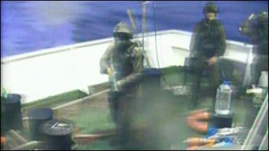 İsrail askerlerinin operasyonu