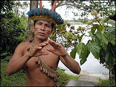 Indígena Bora