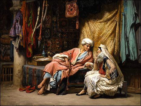 """"""" نساء في الحمام التركي"""" تتصدر مبيعات سوذبي (شاهد اللوحات) 100603131805_sotherbies_bridgman_466x350_nocredit"""