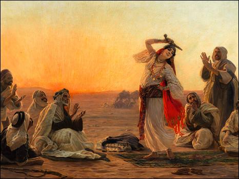 """"""" نساء في الحمام التركي"""" تتصدر مبيعات سوذبي (شاهد اللوحات) 100603132439_sotherbies_womandancing_466x350_nocredit"""