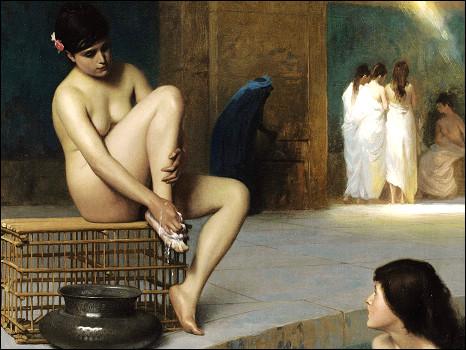 """"""" نساء في الحمام التركي"""" تتصدر مبيعات سوذبي (شاهد اللوحات) 100603132657_sotherbies_womanbather_466x350_nocredit"""