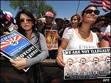 Protestas contra la Ley de Arizona