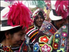 Indigenas bolivianos