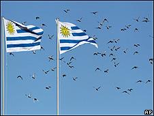 Banderas de Uruguay.