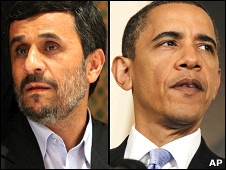 باراک اوباما و محمود احمدی نژاد