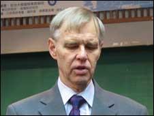 美國在台協會前理事主席卜睿哲(12/06/2010)