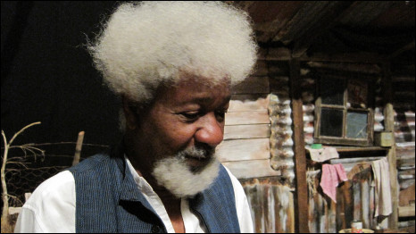 Wole Soyinka in South Africa