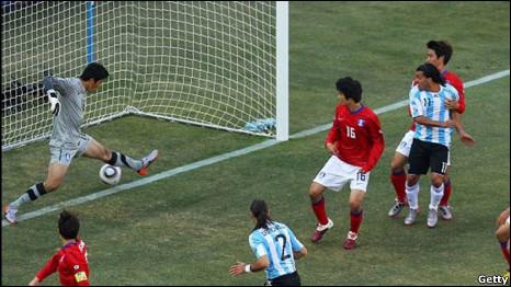 argentina v korsel