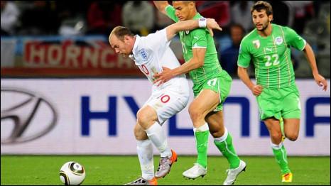 Aljazair v Inggris