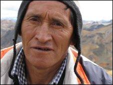 Pablo Parco, habitante de Licapa