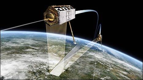 Satélite TanDEM-X (DLR)