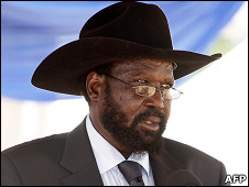 Salva Kiir/AFP