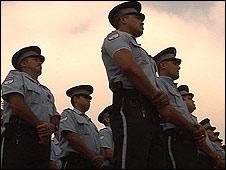 Monterrey México policías