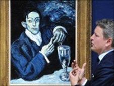 'Retrato de Angel Fernandez de Soto', de Picasso, leiloado na Christie's (arquivo)