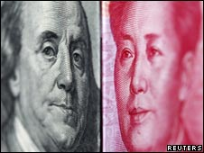 rmb and dollar