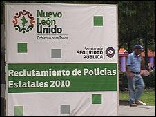Reclutamiento de policías