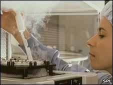 Técnica congela óvulos e esperma em laboratório