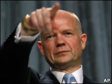 William Hague, em foto de arquivo (AP)