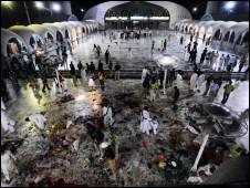 انفجار در آرامگاه صوفیان در لاهور