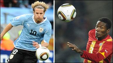 Uruguay dhidi ya Ghana