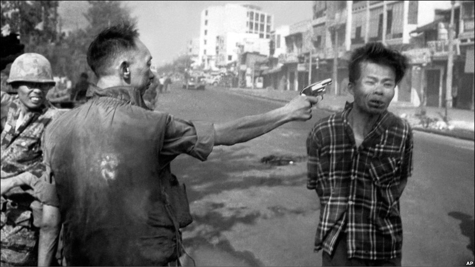 Nguyen Ngoc Loan Executing A Viet Cong Officer