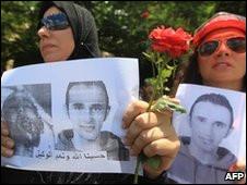 Protes kebrutalan di Mesir
