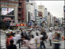 日本街头(资料照片)