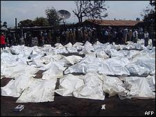 قربانیان انفجار در کنگو